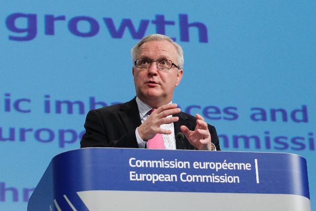 Press conference by Olli Rehn, Vice-President of the EC, on the Account Surpluses in the EU and the 2012 Fiscal Sustainability Report