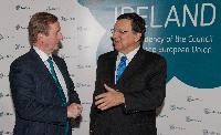 Réunion inaugurale de la présidence irlandaise du Conseil de l'UE avec la CE