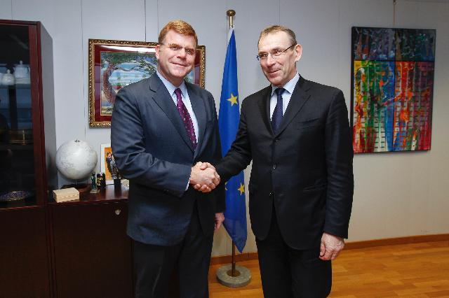 Visit of Stephen P. Groff, Vice-President of the ADB, to the EC