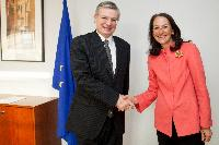 Visit of Margaret Hamburg, US Commissioner for Food and Drug Administration, to the EC