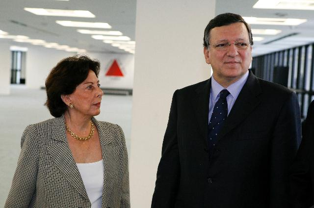 Visit of José Manuel Barroso, President of the EC, to Brazil