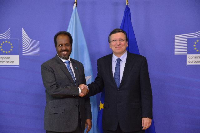 Visit of Hassan Sheikh Mohamud, President of Somalia, to the EC