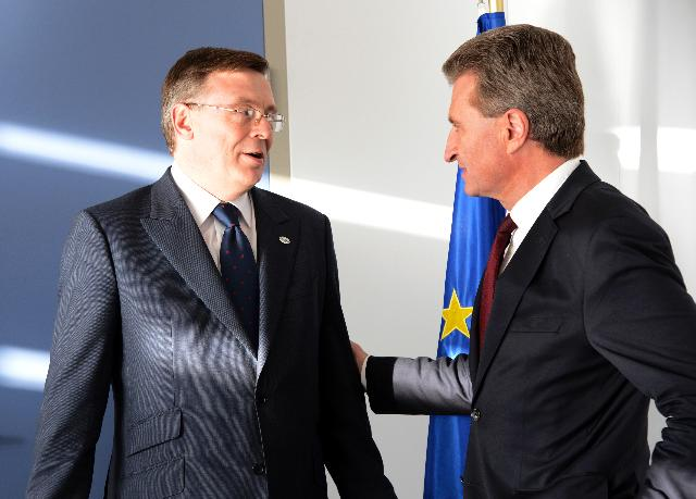 Visit of Leonid Kozhara, Ukrainian Minister for Foreign Affairs, to the EC
