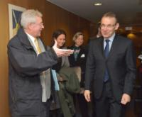 Visit of Martin Dahinden, Director General of the Swiss Agency for Development and Cooperation, to the EC