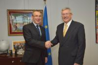 Visit of Martin Dahinden, Director-General of the Swiss Agency for Development and Cooperation, to the EC