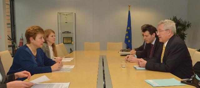 Visite de Martin Dahinden, directeur général de la Direction du développement et de la coopération suisse, à la CE