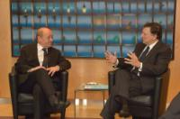 Visit of Jean-Yves Le Drian, French Minister for Defence, to the EC