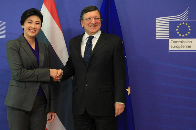 Visit of Yingluck Shinawatra, Thai Prime Minister, to the EC