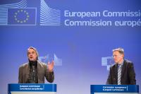 Joint press conference with Jeremy Irons on the Green Paper on plastic waste, Brussels