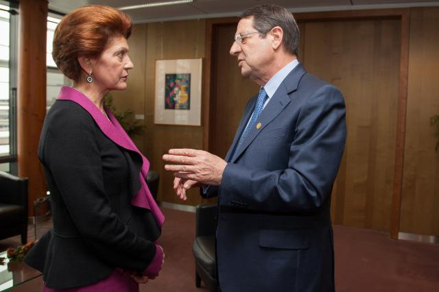 Visit of Nicos Anastasiades, President of Cyprus, to the EC