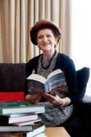 Androulla Vassiliou, Member of the EC, while reading for the 'Get Caught Reading' campaign