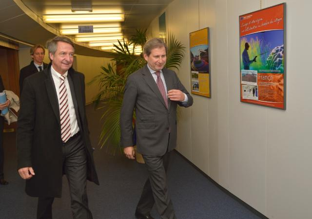 Visit of Ulrich Schröder, CEO of KfW Bankengruppe, to the EC