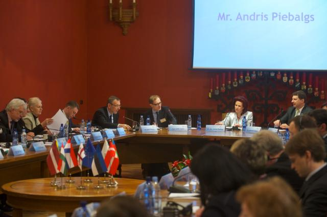 Participation of Andris Piebalgs, Member of the EC, at the conference on the 'Development Cooperation: The Baltic Response', organised in Riga