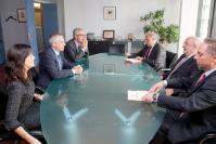 Visit of Pere Navarro i Morera, First Secretary of the Socialists' Party of Catalonia, to the EC