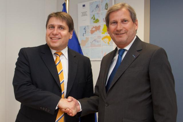 Visite de Markus Beyrer, directeur général de BusinessEurope, à la CE
