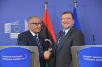 Visit of Ali Zeidan, Libyan Prime Minister, to the EC