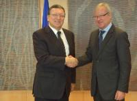 Visit of Ramón Luis Valcárcel Siso, President of the Committee of the Regions, to the EC