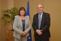 Biennial New Zealand-EC Joint Science and Technology Cooperation Committee meeting with the participation of Máire Geoghegan-Quinn, Member of the EC