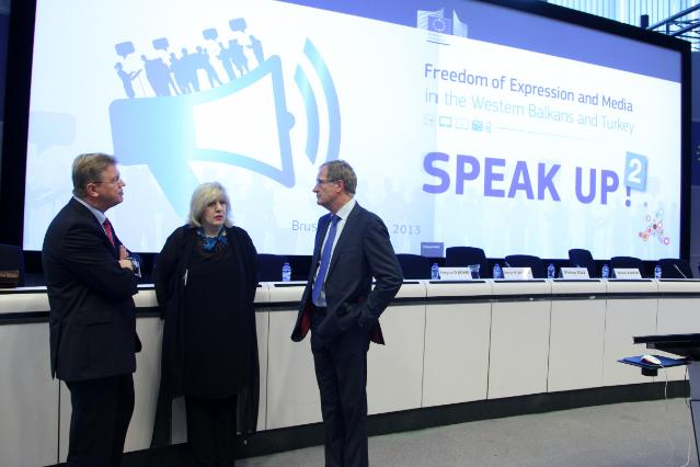 Second Speak Up! conference on media freedom in the Western Balkans and Turkey