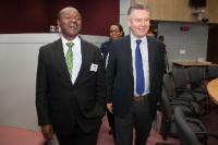 Visite d'Erastus Mwencha, vice-président de la Commission de l'Union africaine, à la CE