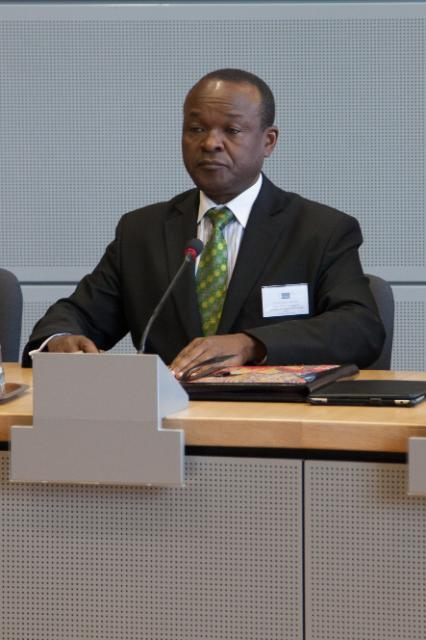 Visit of Erastus Mwencha, Deputy Chairman of the African Union Commission, to the EC