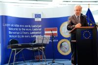 Participation of Olli Rehn, Vice-President of the EC, in the festivities to celebrate the enlargement of the euro area to include Latvia