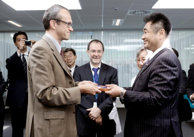 Visit of Shinpei Matsushita, Japanese Parliamentary Vice-Minister of Land, Infrastructure, Transport and Tourism, at the EC and at the European Emergency Response Centre