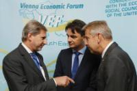 Participation of Johannes Hahn, Member of the EC, at the Vienna Economic Forum on the theme of Croatia