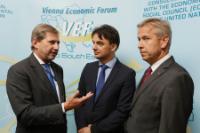 Participation de Johannes Hahn, membre de la CE, au Forum économique de Vienne sur le thème de la Croatie