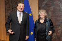 Visit of Ada Yonath, Laureate of the 2009 Nobel Prize in Chemistry, to the EC