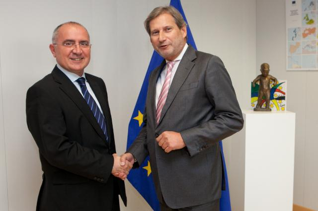 Visit of Lazaros S. Lazarou, Member of the European Court of Auditors, to the EC