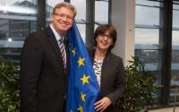 Visit of Maia Panjikidze, Georgian Minister for Foreign Affairs, to the EC
