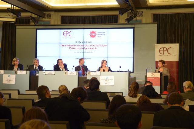 Participation of Kristalina Georgieva, Member of the EC, at the conference 'The European Union as a Crisis Manager - patterns and prospects' organised by the EPC