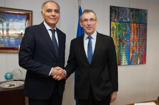 Visit of Salaheddine Mezouar, Moroccan Minister for Foreign Affairs and Cooperation, to the EC