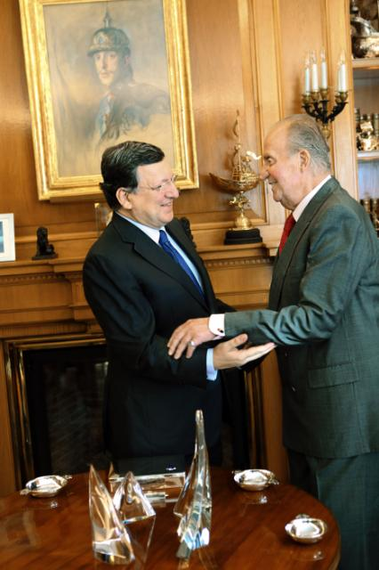 Visit of José Manuel Barroso, President of the EC, to Madrid