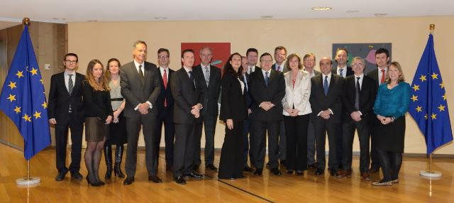 Visit of the Prince of Wales's Corporate Leaders Group on Climate Change to the EC