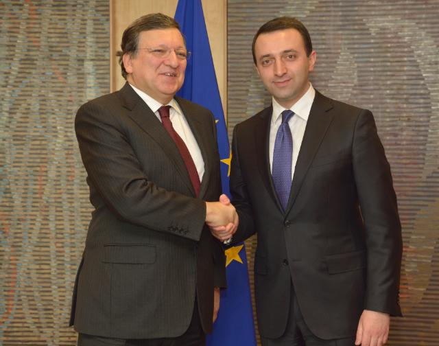 Visit of Irakli Garibashvili, Georgian Prime Minister, to the EC