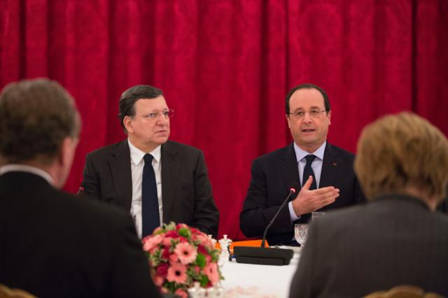 Participation of José Manuel Barroso, President of the EC, in a debate with Members of the European Roundtable of Industrialists