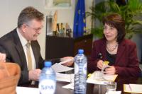 Visit of Victor Tvircun, Secretary General of the Permanent International Secretariat of the BSEC, to the EC