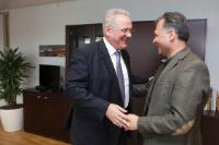 Visit of Veljko Kajtazi, Member of the Croatian Parliament, to the EC