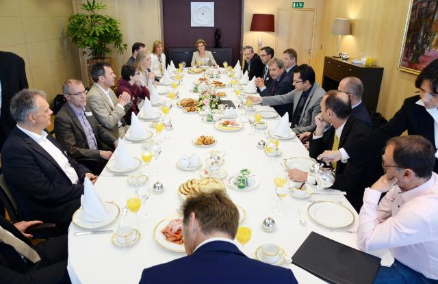 Visit of a group of Austrian Members of the EP to the EC