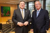 Visit of Jean-Claude Juncker, President Designate of the EC, to the EC