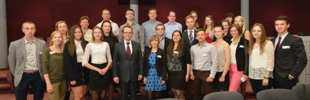 Visit of the European Youth Team from Lithuania to the EC