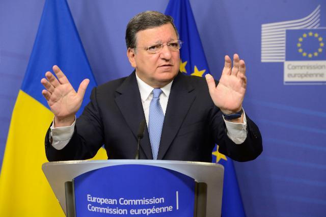 Visite de Petro Porochenko, président de l'Ukraine, à la CE