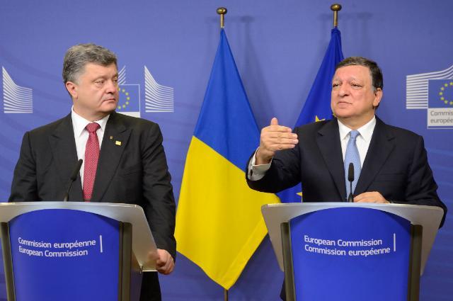 Visit of Petro Poroshenko, President of Ukraine, to the EC