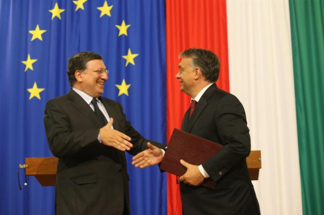 Visit of José Manuel Barroso, President of the EC, to Hungary