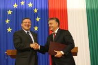 "Illustration of ""Visit of José Manuel Barroso, President of the EC, to Hungary"""