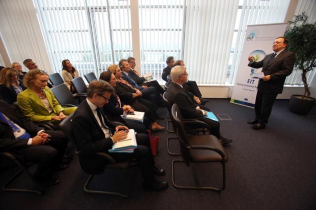 Visite de José Manuel Barroso, président de la CE, en Hongrie
