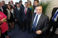 "Illustration of ""Visit of José Manuel Barroso, President of the EC, to Hungary"""