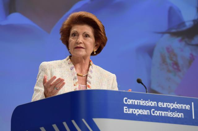 """Illustration of """"Press conference by Androulla Vassiliou, Member of the EC, on the publication of the main findings from..."""